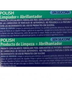 Polish sin silicona ( Limpiador + Abrillantador), Krafft