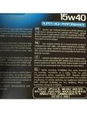 Aceite Wynn's Turbo Diésel Euro SHPD E-7 15w40