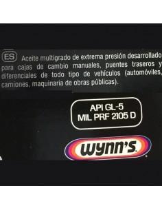 Aceite Wynn's Gear Saver EP 80W90