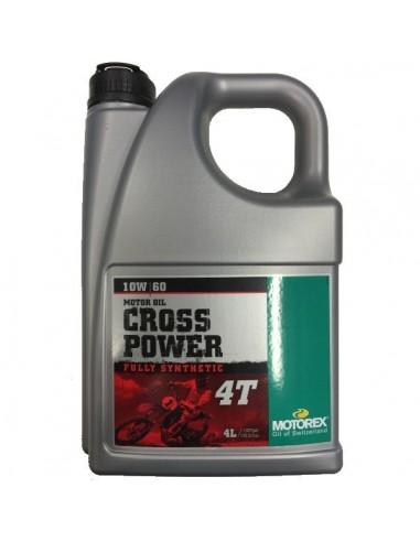 Aceite Motorex Cross Power 4T 10W60