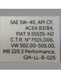 Aceite Selenia WR Diesel 5W40