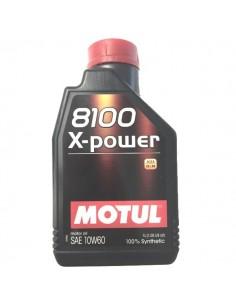 Aceite Motul 8100 X-Power 10W60