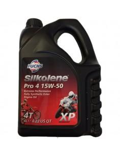 Aceite Silkolene Pro 4 15W50