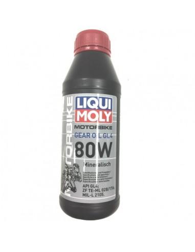 Aceite Liqui Moly Motorbike Gear Oil GL4 80W