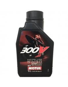 Aceite Motul 300V 4T Factory Line 5W30