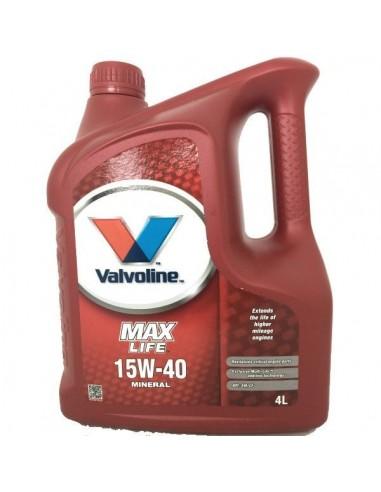 Aceite Valvoline MaxLife 15W40