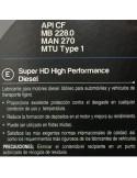 Aceite Krafft Profesional Super HD 20W40