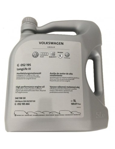 Aceite Volkswagen Original LongLife III 5W30