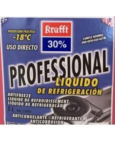 Anticongelante Refrigerante Proffesional Krafft 30% Krafft, Rojo