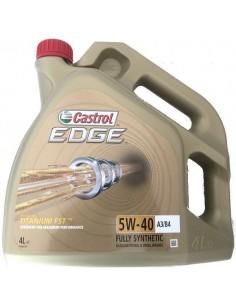 Aceite Castrol Edge Titanium FST 5W40 A3/B4