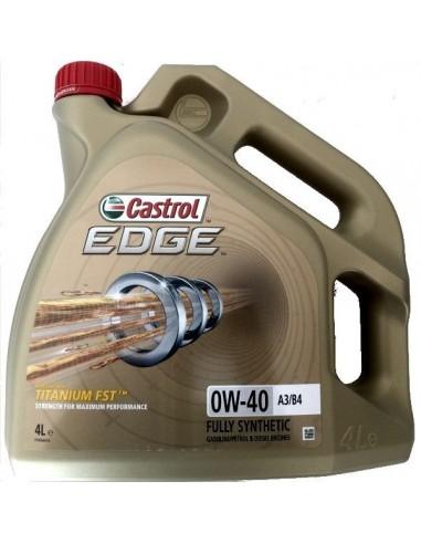 Aceite Castrol Edge Titanium FST 0W40 A3/B4
