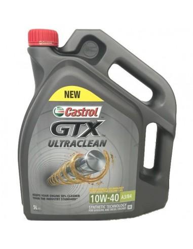 Aceite Castrol GTX UltraClean 10w40 A3/B4