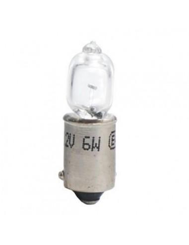 Lámpara Halógena 12V 6W H6W BAX9S