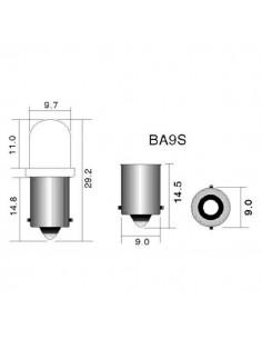 Lámpara T2W12V/2W BA9S