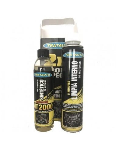 Pack 2x1 (Tratamiento Sintetico + Limpiador Interno ), Tratauto