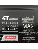 Aceite Motul 5000 4T HC-TECH 10W40