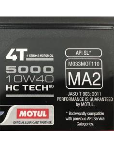 Aceite Motul 5100 4T HC-TECH 10W40