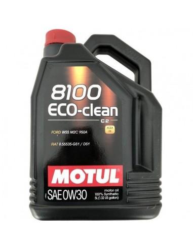Aceite Motul 8100 Eco-Clean C2 0W30
