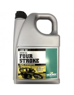 Aceite Motorex Four Stroke 4T 15W50