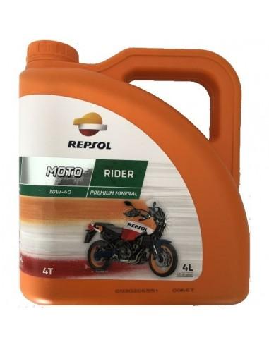Aceite Repsol Moto Rider 4T 10W40