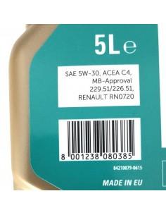 Aceite Petronas Syntium 5000 RN 5W30