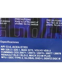 Aceite Recambium 15W40 E7