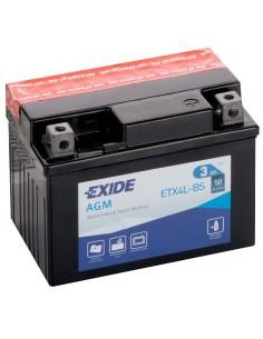 Batería Moto Exide AGM ETX4L-BS- 12V- 3 Ah