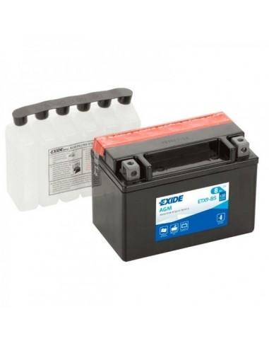 Batería Moto Exide AGM ETX9-BS 12V - 8 Ah