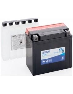 Batería Moto Exide AGM ETX9C-BS 12V- 9 Ah