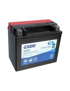Batería Moto Exide AGM ETX12-BS 12V- 10 Ah