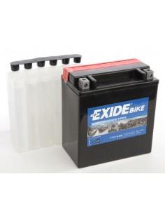 Batería Moto Exide AGM ETX16-BS 12V-14 Ah