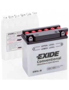 Batería Moto Exide Convencional EB5L-B - 12V-5 Ah