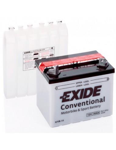 Batería Moto Exide Conventional U1R-11 - 12V-30Ah