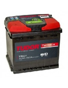Batería TUDOR TB501 TUDOR TECHNICA 12 V