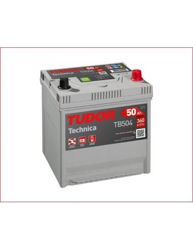 Batería TUDOR TB504 TECHNICA 50 Ah