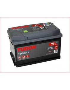 Batería TUDOR TB712 TUDOR TECHNICA 12 V