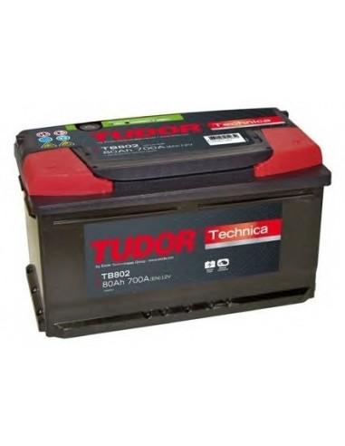 Batería TUDOR TB802 TECHNICA 80 Ah