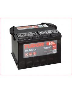 Batería TUDOR TB 608 ** TUDOR TECHNICA 12 V