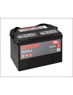 Batería TUDOR TB 758 ** TUDOR TECHNICA 12 V