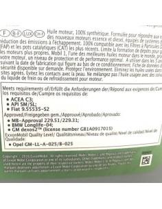 Aceite Mobil 1 Esp 0W40
