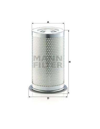 FILTRO SEPARADOR LE40001 MANN-FILTER