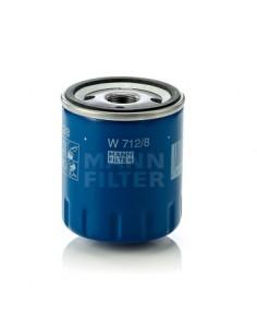 FILTRO DE ACEITE W712/8 MANN-FILTER