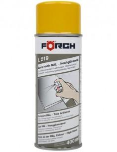 Spray Laca Amarillo Oro Brillante R1004, Forch