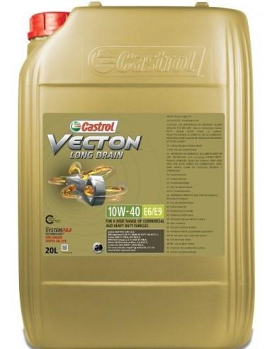 Aceite Castrol Vecton Long Drain 10W40 E6/E9