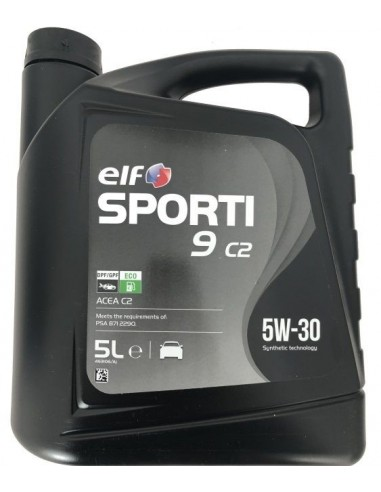 Aceite Elf Sporti 9 C2 5W30