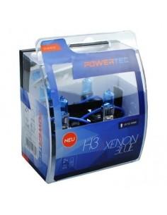 PowerTec Xenon Azul H3 12V Duo