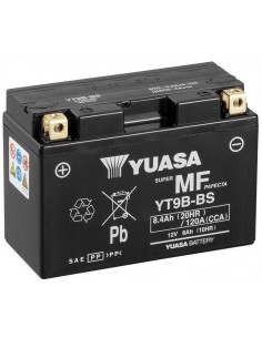 Batería Moto Yuasa YT9B-BS 12V- 8Ah