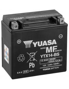 Batería Moto Yuasa YTX14-BS 12V- 12Ah
