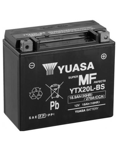 Batería Moto Yuasa YTX20L-BS 12V- 18Ah