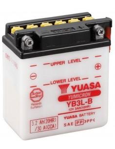 Batería Moto Yuasa YB3L-B 12V- 3Ah